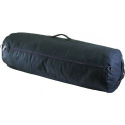Zippered Canvas Duffel Bag - Heavy Duty
