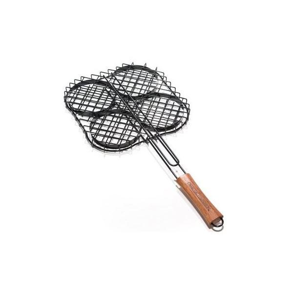 Non Stick Hamburger Grilling Basket