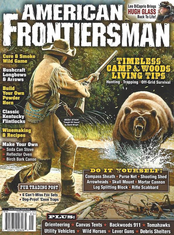 American frontiersman winter 2016 for American cuisine dvd