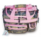 "Ladies' Mossy Oak Infinity Duffel / Carry-On Bag - 13"" - Pink Trim"