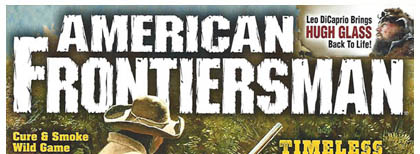 American Frontiersman Winter 2016 Issue
