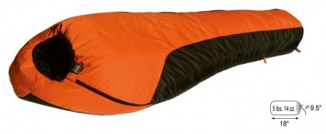 Mt. Rainier -20° WATERPROOF Sleeping Bag