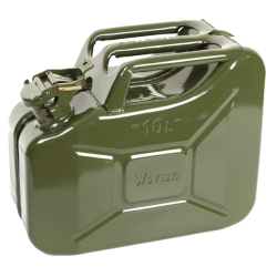 NATO Green Steel 10 Liter Jerry Can w/Spout