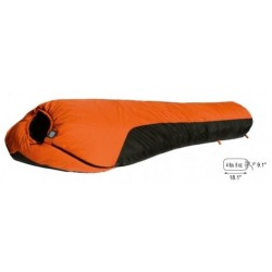 Mt. Rainier 0 Degree WATERPROOF Sleeping Bag  4.6 Pounds