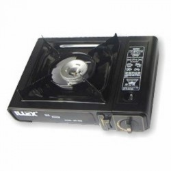 Portable Single Burner Butane Stove w/ Carrying Case