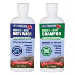 Rinse-Free Body Wash + Shampoo