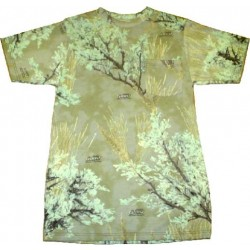 Ghost Camouflage Cotton T-Shirt