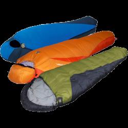 Assorted High Peak 0° Sleeping Bags - 6 Count