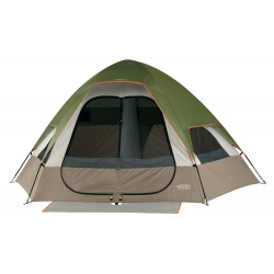 Wenzel Big Bend 12-by-10 Foot 5-Person 2-Room Family Dome Tent