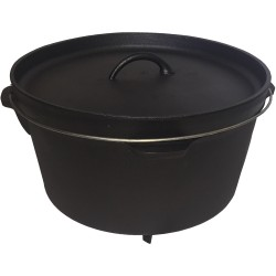 Moose Country Gear 12-quart Cast Iron Dutch Oven With Legs