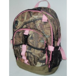 Mossy Oak Backpack - Pink (MO56-P)