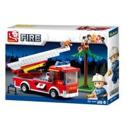 Fire Truck w/Aerial Ladder (269 pcs)