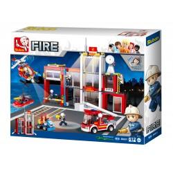 Fire Station (612 pcs)