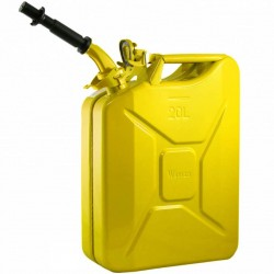 NATO Yellow Steel Jerry Can w/Spout