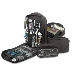 Stomp Medical Kit - Black Interior View Opened