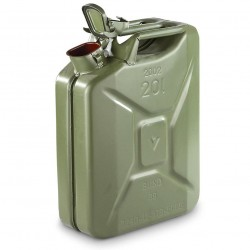 Used NATO Jerry 20 Liter Steel Fuel Cans