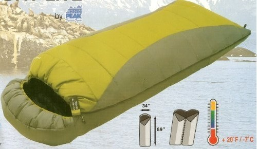 High Peak Comfort Lite Extra Long Sleeping Bag
