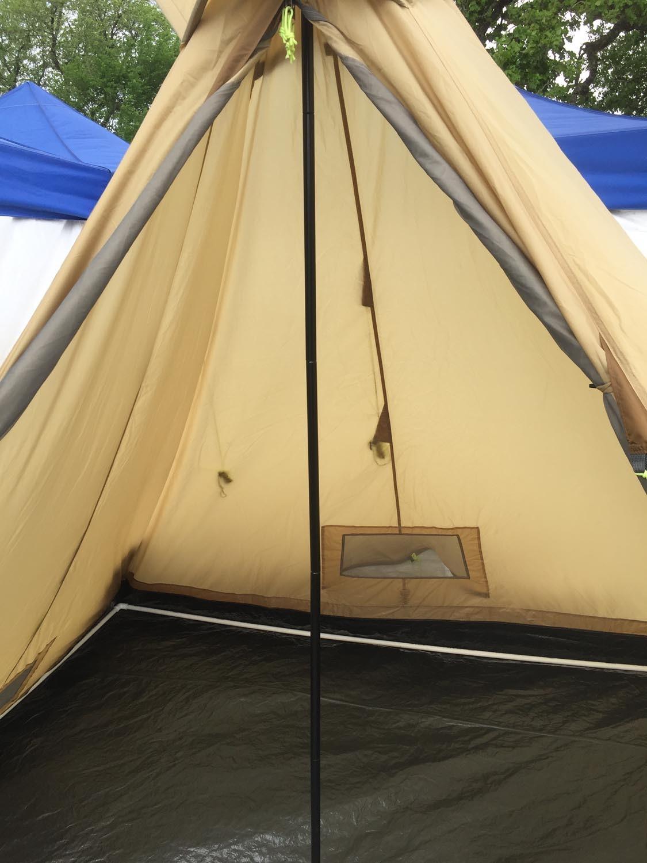 ... Tent Buffalo Hunter interior detail ... & Buffalo Hunter 6-Person 4-Season Tent