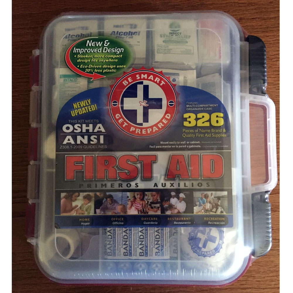 326 Piece Osha Approved First Aid Kit