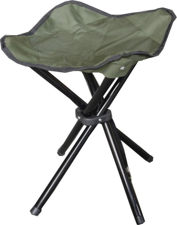 4legged folding stools blue or green