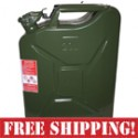 NATO Steel 20 Liter Jerry Gas Can - Green