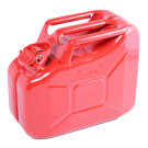 NATO Red Steel 10 Liter Jerry Can (no Spout)