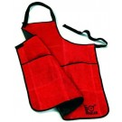 Lodge Red Leather Apron
