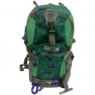 Coleman Kid's Hiking Backpack w/Hydration Compartment & Bladder Gray/Green/Blue/Teepees