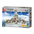Navy Cruiser Military Ship (577 pcs)