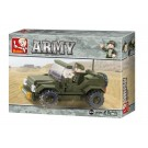 Land Forces Jeep (121 pcs)