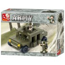 Land Forces Military Jeep (175 pcs)