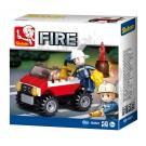 Fire - Police Car (58 pcs)