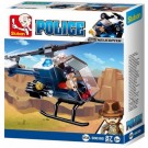 Police 4-in-1 Helicopter (88 pcs)