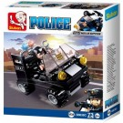 Police 4-in-1 Assault Vehicle (73 pcs)