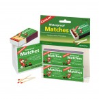 Waterproof Safety Matches - 4 Boxes