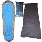Uberlite 1200 Sleeping Bag + Fleece Liner + Camping Pillow