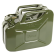 NATO Green Steel 10 Liter Jerry Can - No Spout